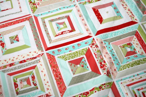 Ruby String Quilt: Printable PDF Chart
