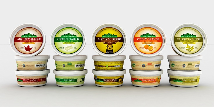 Compound Butter | food packaging. | Pinterest