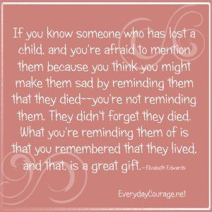 bereavement quotes for loss of child loss of child
