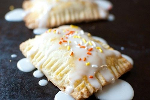 Pumpkin Pie Pop Tarts with Maple Glaze For the Crust: 2 cups all ...