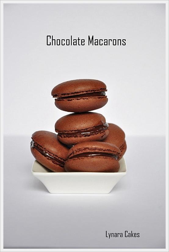 Chocolate Macarons | Cookies-Assorted | Pinterest