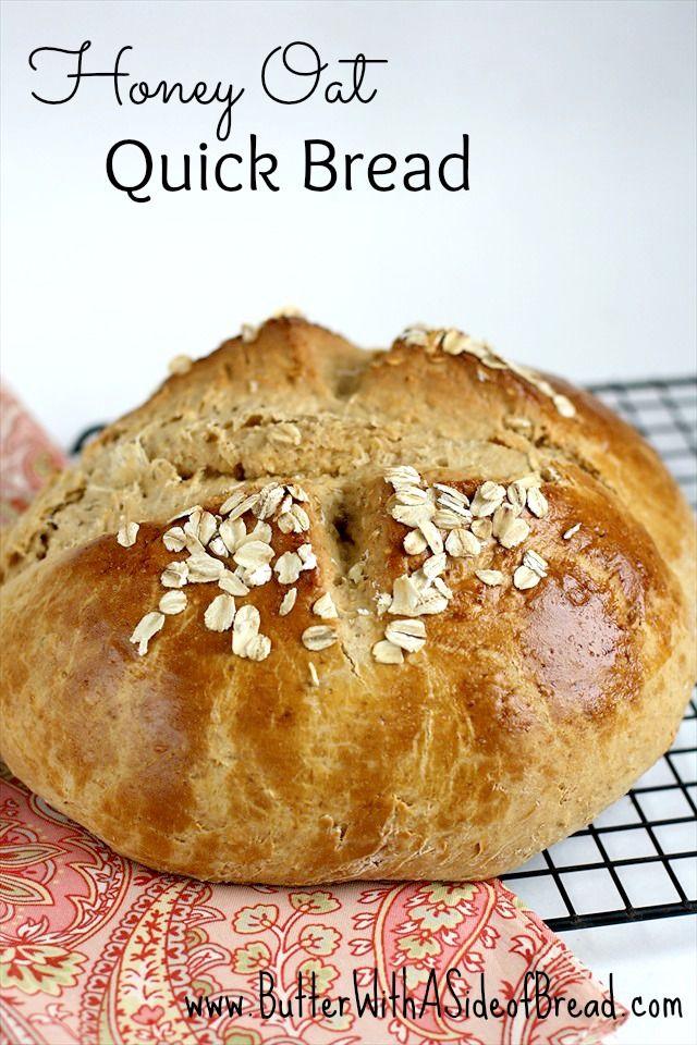 Honey Oat Quick Bread Recipe — Dishmaps