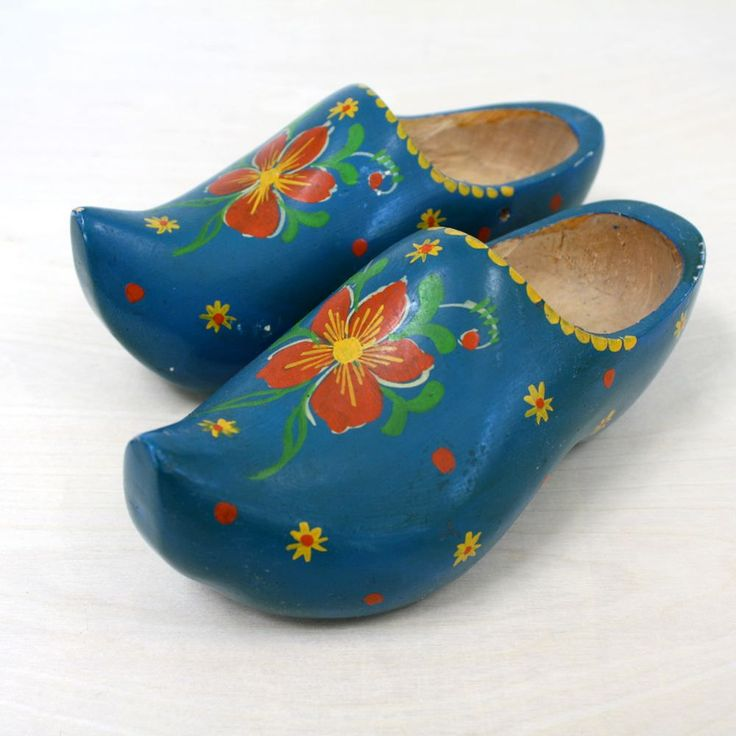 Dutch wooden shoes - extremely durable. I have a good Dutch friend who