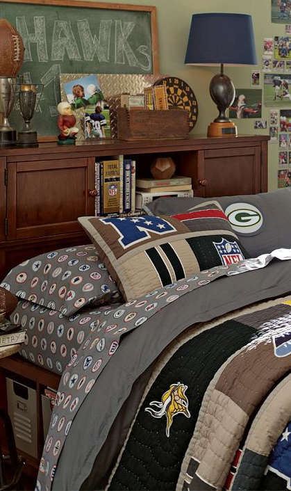 Bedding for guys teen bedding for Boys rugby bedroom ideas