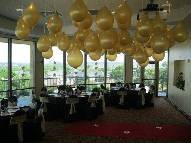 Old Hollywood Glamour Anniversary Wedding Party Ideas