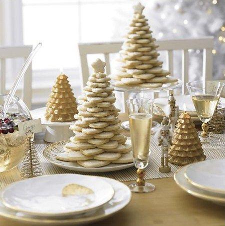 Mesa de Navidad de estilo nórdico