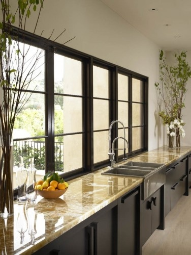 Modern kitchen nice size windows kitchens pinterest for Nice modern kitchens