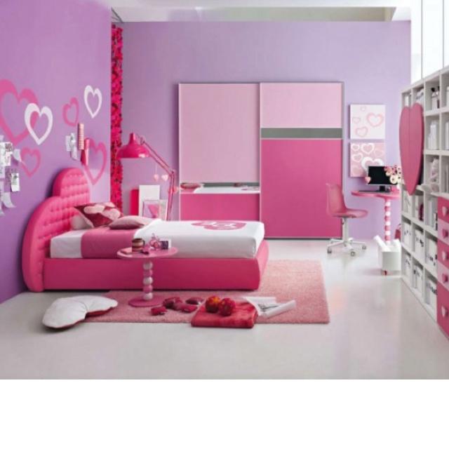 Cute Little Girls Room Room Ideas Pinterest