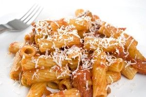 Penne with Tomato Sauce and Ricotta | Pasta, Rice & Noodles | Pintere ...