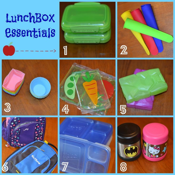 Lunchbox Essentials - great post by Samantha at @HappilyAHousewife