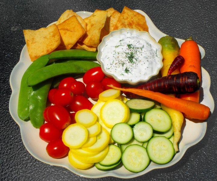 Cucumber Yogurt Dip | Snacks | Pinterest