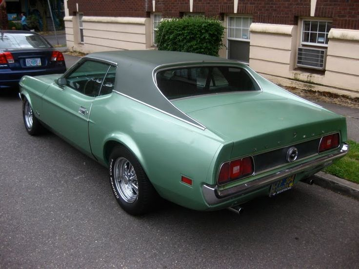 1971 Mustang Coupe. | American Muscle Cars | Pinterest