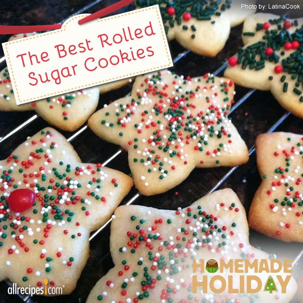The Best Rolled Sugar Cookies | Enjoy the most popular holiday cookie ...