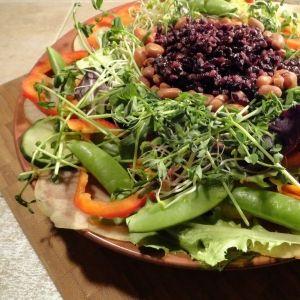 Forbidden Black Rice Salad | Make Me! | Pinterest