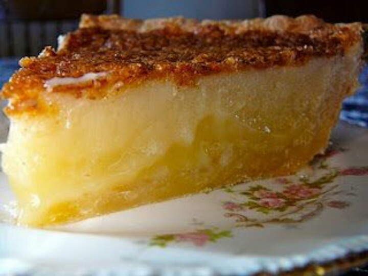 Buttermilk pie | Recipes | Pinterest
