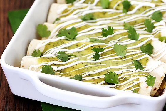 Chicken & Avocado Enchiladas | Recipe