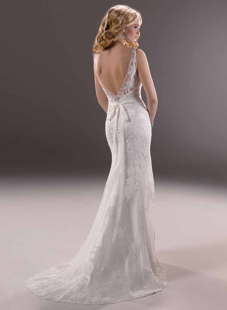 Deep Low Back Wedding Dress : Discover and save creative ideas