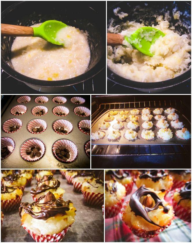 Pineapple-Coconut Macaroons Recipe — Dishmaps