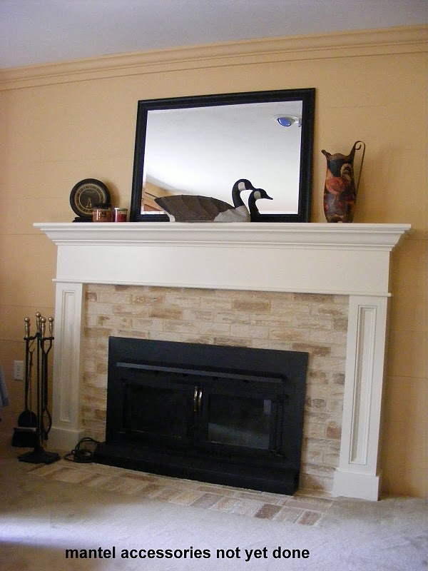 Fireplace Update For The Home Pinterest