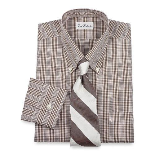 Paul Fredrick Non-Iron Cotton Gingham Dress Shirt « Impulse Clothes