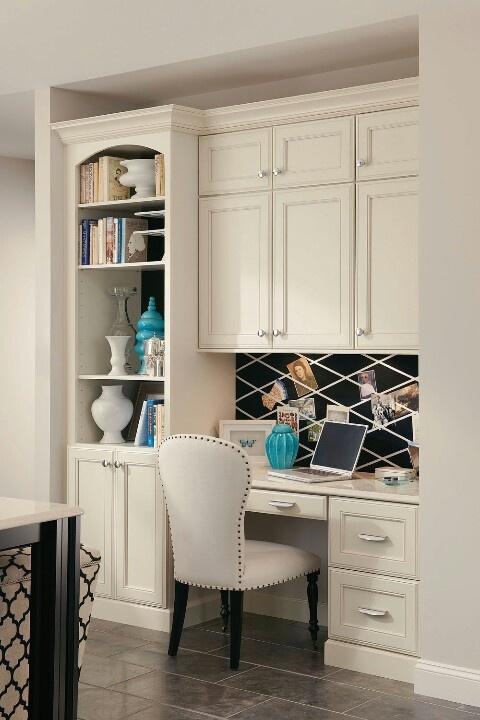 Desk area in kitchen Home Ideas