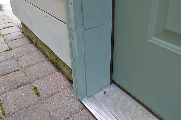 Replacing Bottom Of Rotted Door Frame Doors Pinterest