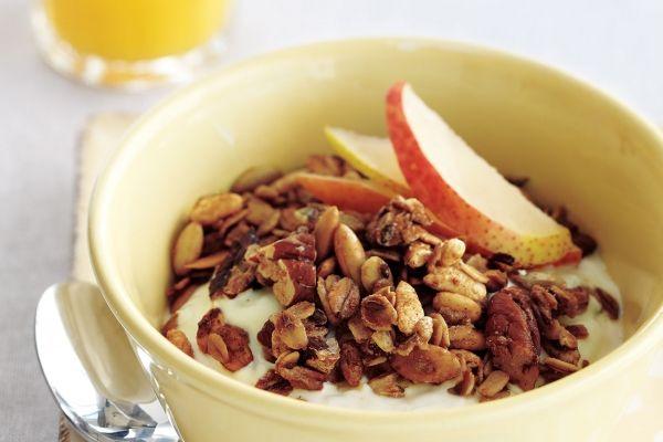 Pumpkin+Pie+Granola | Recipes - breakfast | Pinterest