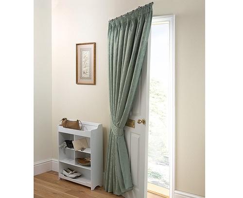 Portiere door curtain pole snore pinterest for Door curtain pole