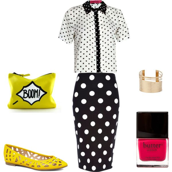 """Dots & Dots"" by glory249 on Polyvore"