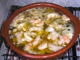Chilli Garlic Prawns - Gambas al pil-pil | Yummy :) | Pinterest