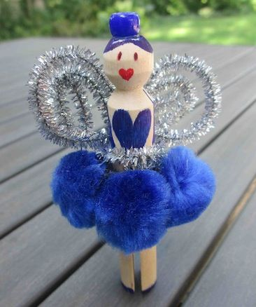Fairy craft for kids w5 peg peeps pinterest for Fairy crafts for toddlers
