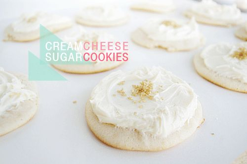 Cream Cheese Sugar Cookies | Cookies & Confections | Pinterest