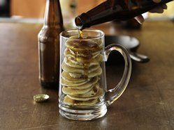Beer and Bacon Mancakes recipe from Betty Crocker