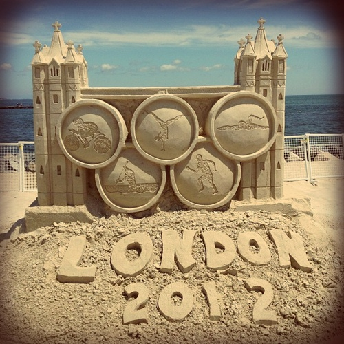Olympics London 2012 sand art...