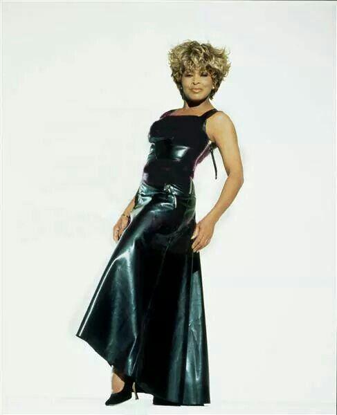 Leather Dress | Tina Turner | Pinterest