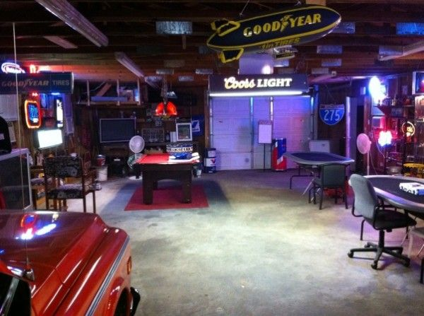 multi use garage man caves pinterest