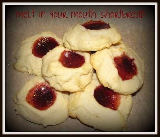 Nom nom.. melt in your mouth shortbread! i didnt have cherries so i ...