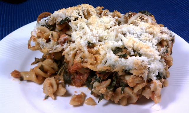 Italian Sausage Spinach Pasta Bake - 8 points plus for 1/10 of recipe ...