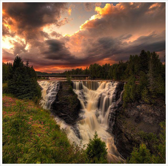 Kakabeka Falls Thunder Bay Ontario Photography Places To Go