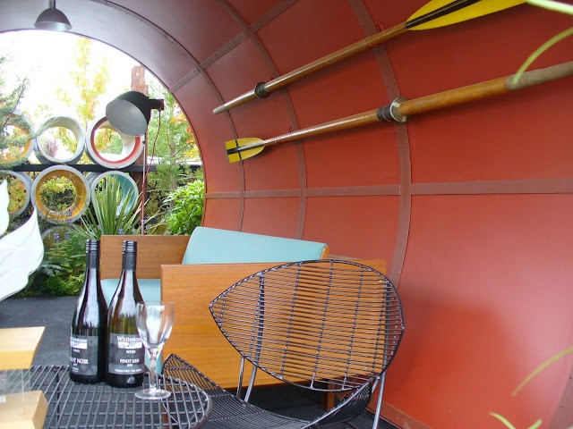 Ellesmere International Flower Show exhibit 'Max's Pipe Dream'