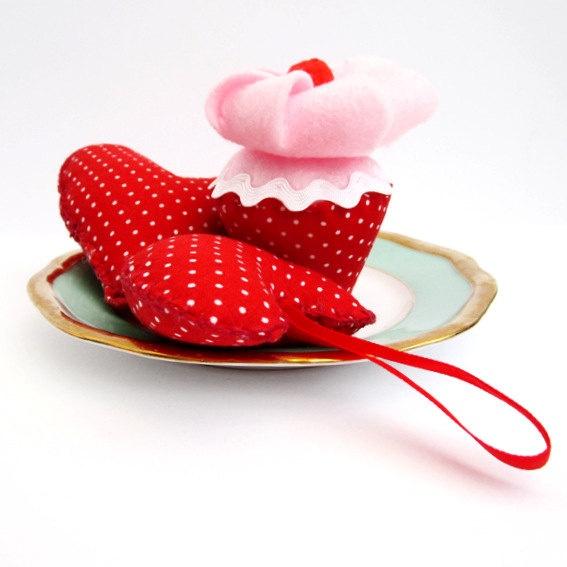 valentine's day fabric crafts