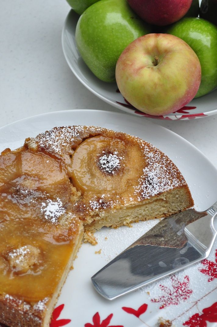 Apple Sharlotka (or Apple Upside Down Cake...You're Welcome)