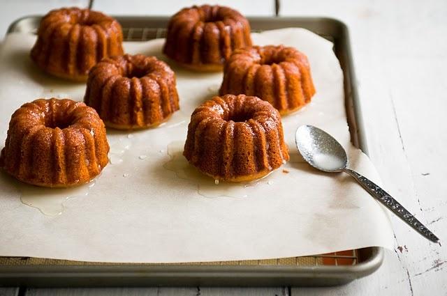 Meyer Lemon Mini Bundt Cakes | Mini Desserts | Pinterest