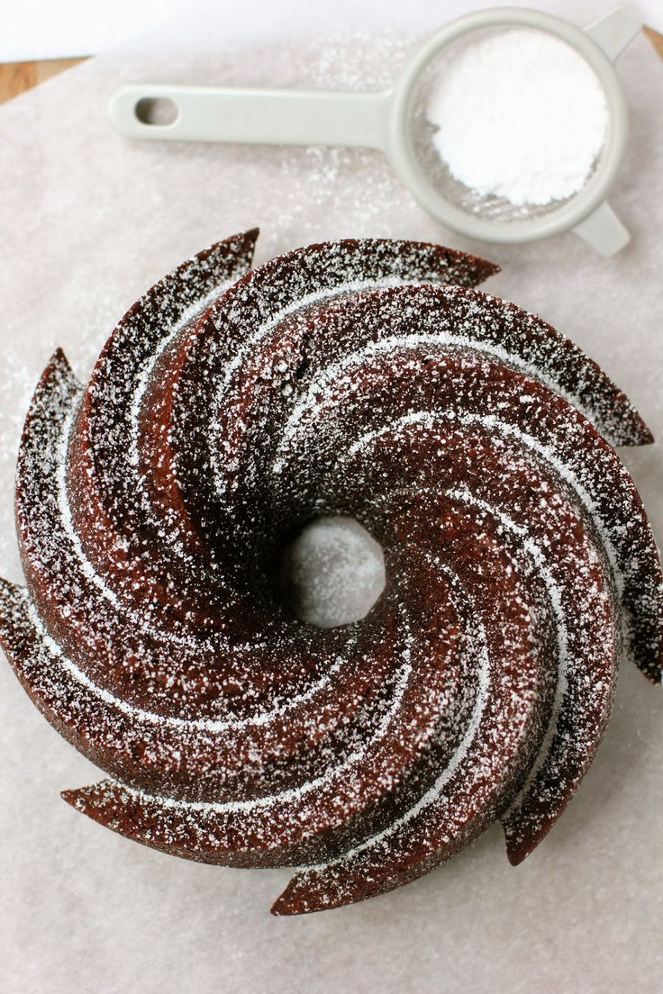 Cocoa Bundt Cake | CHOCOLATE | Pinterest