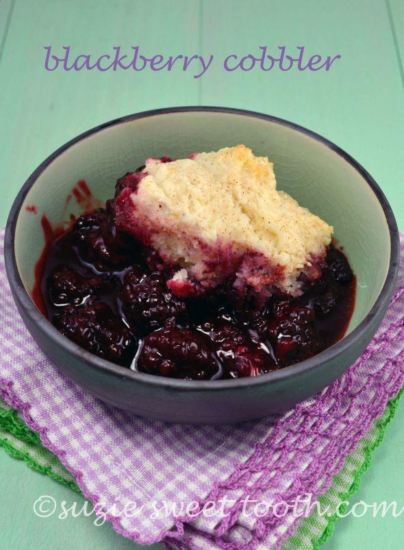 Blackberry Cobbler 1 | Love me some sweets | Pinterest