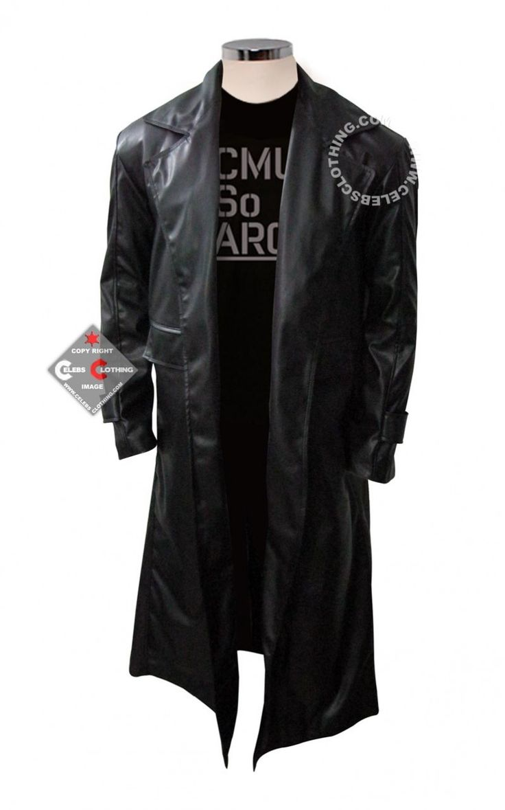 Clark Kent Smallville Trench Coat Celebrity Leather Jackets Pinte