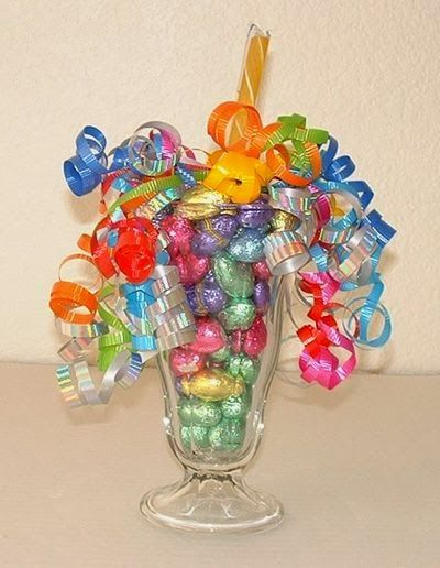Easter craft ideas easter candy sundae gift ideas for Easter craft gift ideas