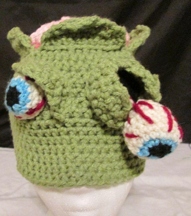 Crochet Zombie Hat : Crochet Zombie Hat My Crocheted Creations Pinterest