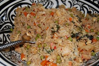 Spicy Shrimp Fried Rice 4 | Just good food | Pinterest