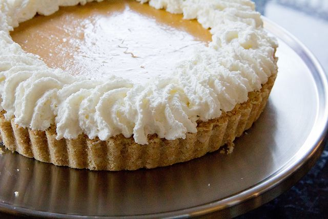 ... -Bake Pumpkin Cream Pie With Maple Whipped Cream Recipes — Dishmaps